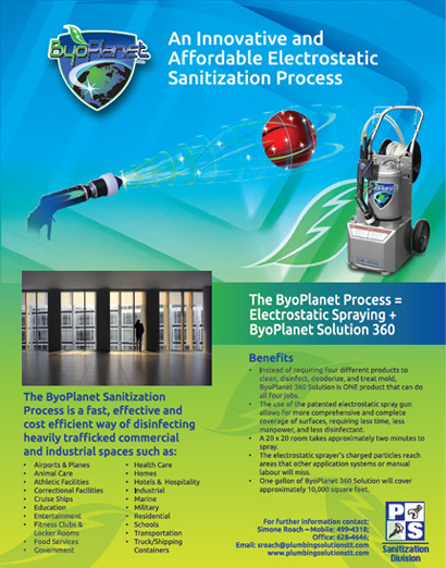 plumbing solution commercial flyer