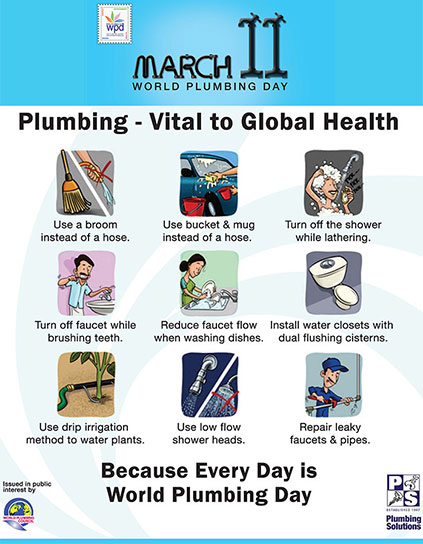 world plumbing day 2014